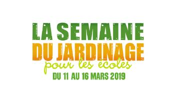 La semaine du jardinage pour les écoles aura lieu du 11 au 16 mars 2019