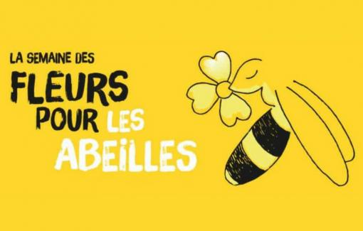 La 4ème Semaine des fleurs pour les abeilles aura lieu du 13 au 21 juin 2020